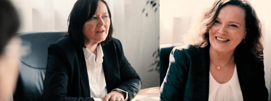 Christine Haaser und Anja Wagner